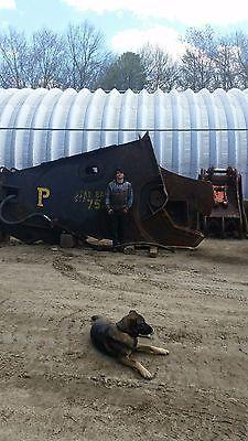Pemberton Pes 900 Demolition Scrap Metal Shear Caterpillar Cat 375 375l Labounty
