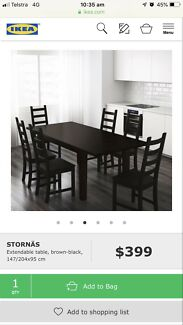 Extendable Dinning Table  East Perth Perth City Area Preview