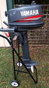 Yamaha 5hp Outboard 5CMH 6E3K 2-stroke long shaft hardly used Springwood Blue Mountains Preview