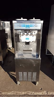 2002 Taylor 794 Soft Serve Frozen Yogurt Ice Cream Machine 3ph Air Fully Working