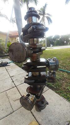 Mercury Verado Crankshaft W/ Pistons and Rods  225-300 HP (Part #: 891644AO4)