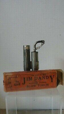 VINTAGE JIM DANDY BLOW TORCH #124-B W/ ORIGINAL BOX