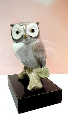 LUCKY OWL - WITH BASE FIGURINE BY LLADRO -