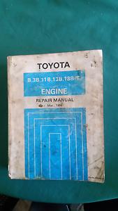 TOYOTA repair Manuel 3B- 13BT Diesel engines Mudgeeraba Gold Coast South Preview