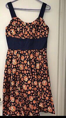 Size Large NWT Disney Parks Dress Shop Source the Orange Bird Sundress Women's