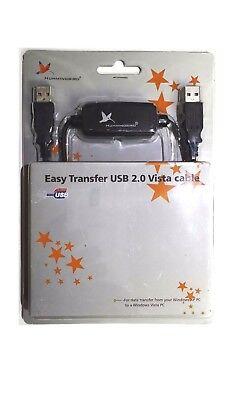 Hummingbird Easy Transfer USB 2.0 Vista Cable Data Transfer Sync H23 segunda mano  Embacar hacia Argentina