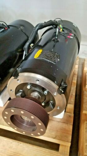 FADAL 15 HP SPINDLE MOTOR W/ ENCODER & COOLING FAN, INCLUDING PULLEY (MTR-0109)