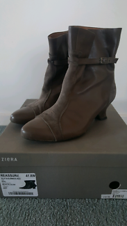 Ziera 'Reassure' slate ankle boots