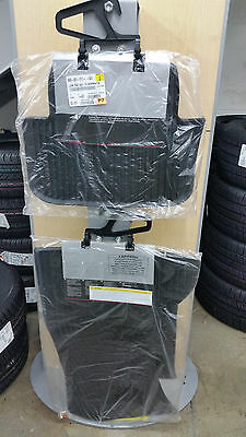 2009 TO 2016 Audi A4 Factory Accessory All Season Rubber Floor Mats   Set of 4