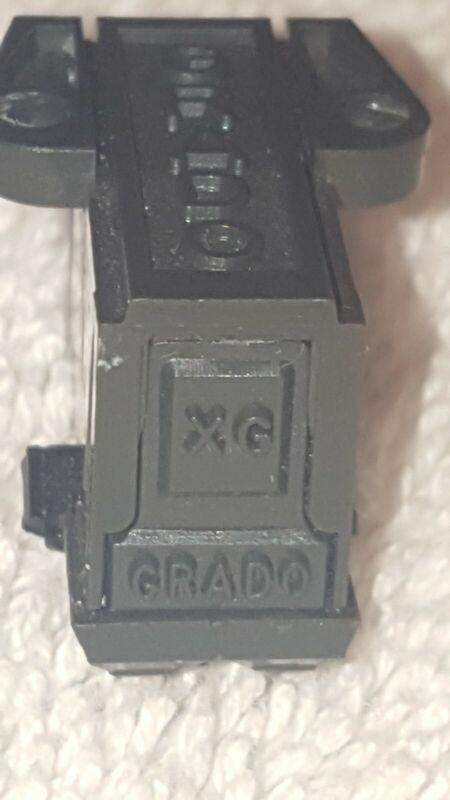 GRADO MODEL XG PHONO CARTRIDGE NO STYLUS TIP, GENUINE GRADO, USED, TESTED