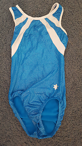 XSCALE snowflake designs blue gymnastics leotard Tingalpa Brisbane South East Preview