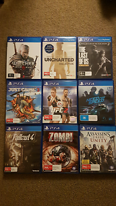 PS4 GAMES FOR SWAP / SELL (UFC 2, NEED FOR SPEED...) Runcorn Brisbane South West Preview