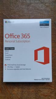 Office 365 Personal Subscription 1 Year - brand new
