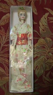 Ponytail Barbie #3 number 3 with Rare #2 Body Blonde in Japanese Kimono