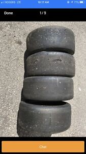 used Continental Contact DR ST Racing slicks : 225/45/18