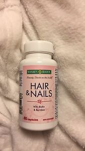 Hair and nails pills