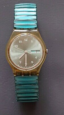 Vintage swatch watch working