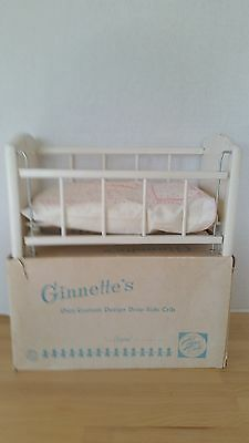 VINTAGE VOGUE GINNETTE'S DROP SIDE CRIB IN ORIGINAL BOX