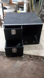 Drifta 2 Drawer Cabinet with provision for Fridge and Aux Battery