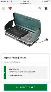 Woods 2 burner camping bbq for sale
