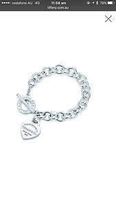 Genuine Return to Tiffany Heart Tag Toggle Bracelet Spotswood Hobsons Bay Area Preview