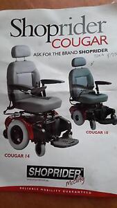 Cougar Power Chair -  Shoprider Granville Fraser Coast Preview