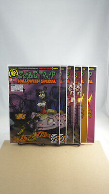 Zombie Tramp Halloween Special One Shot Cover A B C D E F Action Lab Comics - Special A Halloween