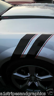 Grand Sport Fender Hash Mark Stripe Stripes FIT 2010 11 12 13 14 15 16 17 Camaro