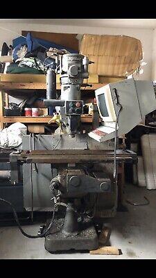 9 X 48 Used Bridgeport V2xt Cnc 3 Axis Cnc Knee Milling Machine Mdl. V2xt