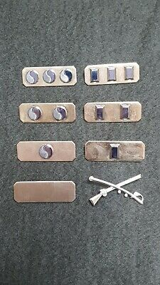 KOREA ARMY OFFICER'S METAL RANK  OF THE 50'S