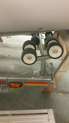 Boat Trailer Roller System. Adjustable Height.