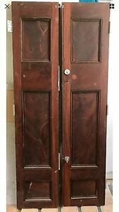 Antique Redwood Doors Bowral Bowral Area Preview
