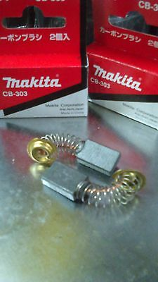 Carbon BRUSH SET (1 PAIR) MAKITA ORIGINAL CB-303 194996-6