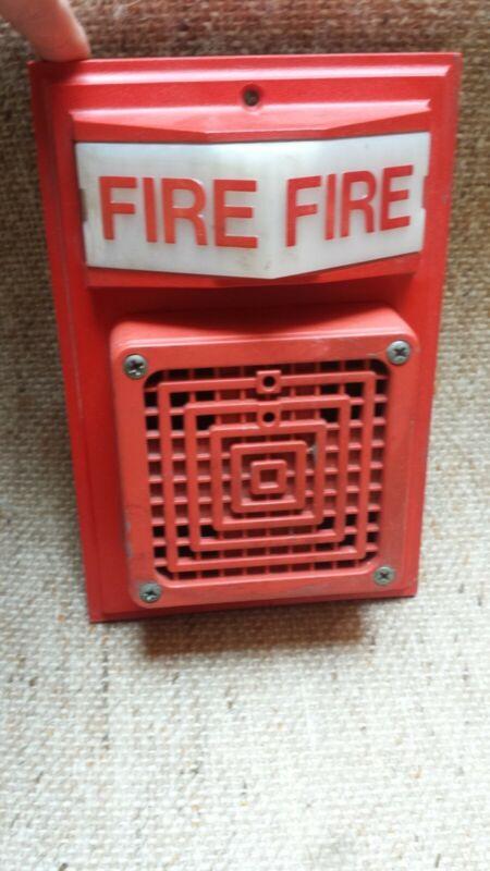 Simplex 2903 fire alarm horn bulb vintage not a strobe
