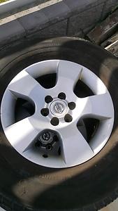 Nissan Navara 16 inch alloy rims Cameron Park Lake Macquarie Area Preview
