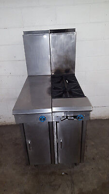 Us Range 2 Burner Natural Gas 12836-7 Tested Under Storage