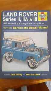 Haynes Land Rover Service and Repair Manual Bindoon Chittering Area Preview
