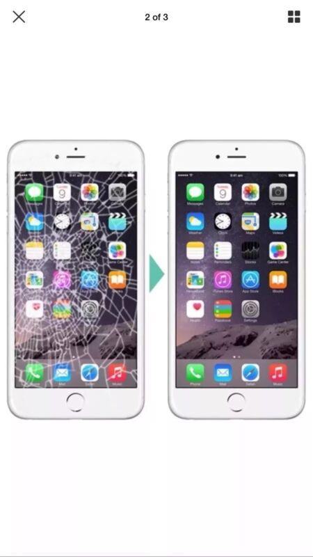 Apple Iphone 6  Digitizer Cracked Broken Screen Repair Service