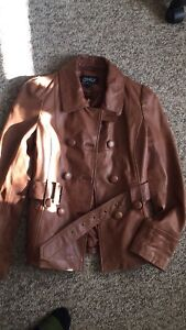 Only lamb leather jacket