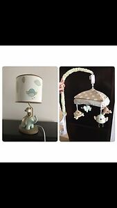 Nursery lamp and mobile Andrews Farm Playford Area Preview