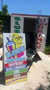 Business for sale: slushy/coffee/food/vendor trailer Newcastle Newcastle Area Preview