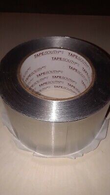 Tapesouth 425 Aluminum Foil Silver Tape 3 X 60 Yds Hvac Blasting Heavy Duty