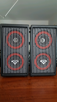 Cerwin-Vega active speakers and subwoofer