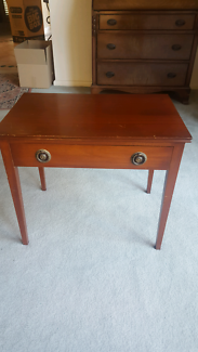 French Polished Side Table
