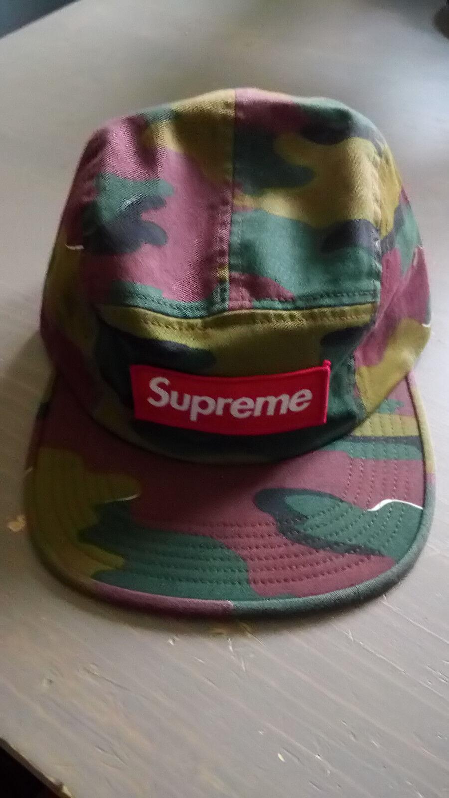 Casquette supreme flat cap supreme