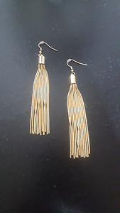 Gold trendy earrings Beaumont Hills The Hills District Preview