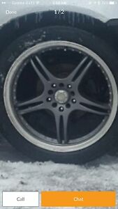 "WTS 18"" Rims with 225/60/18 Tires"