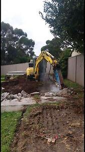 Excavator hire tipper hire concrete removal soil removal Pennant Hills Hornsby Area Preview