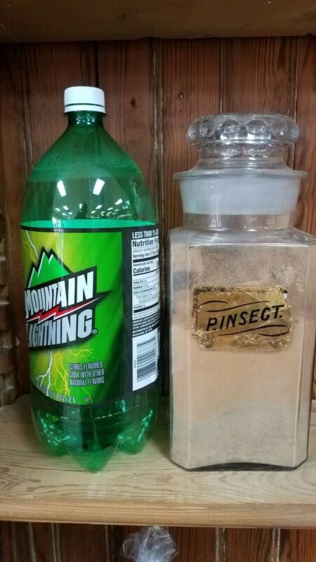 Label Under Glass Counter Jar