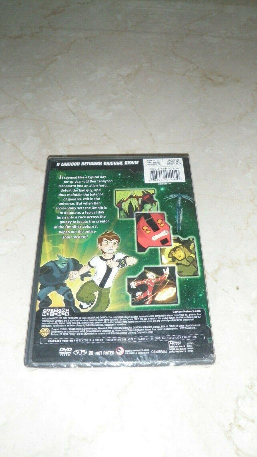 Ben 10 Secret Of The Omnitrix DVD, 2008 --NEW - $6.50